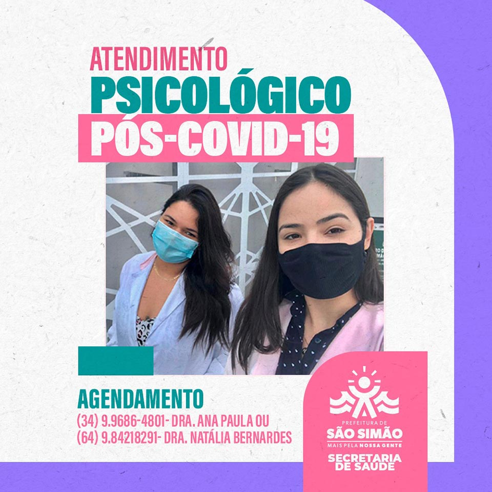 Atendimento psicológico pós-covid-19